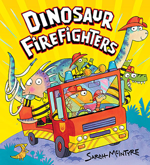 Dinosaur Firefighters Cover