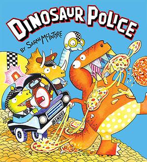 Dinosaur Police Cover